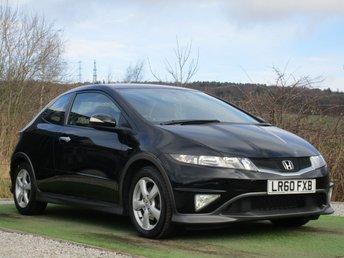 2010 HONDA CIVIC 1.3 I-VTEC TYPE S 3d 98 BHP £4990.00