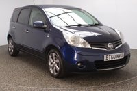 USED 2010 60 NISSAN NOTE 1.4 N-TEC 5DR 87 BHP FULL SERVICE  HISTORY  FULL SERVICE HISTORY + SATELLITE NAVIGATION + BLUETOOTH + CRUISE CONTROL + AIR CONDITIONING + MULTI FUNCTION WHEEL + RADIO/CD/AUX/USB + 16 INCH ALLOY WHEELS