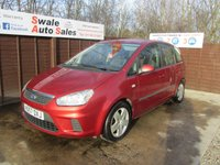 2007 FORD C-MAX 1.8 STYLE 5d 124 BHP £2795.00