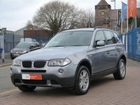 "USED 2006 56 BMW X3 2.0 D SE 5d  FULL SERVICE HISTORY  ~ 17"" ALLOY WHEELS ~ FRONT & REAR PARKING SENSORS ~ CRUISE CONTROL ~ FULL LEATHER ~ CLIMATE CONTROLED AIR CONDITIONING"