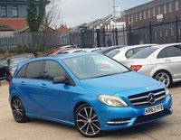 2013 MERCEDES-BENZ B-CLASS 1.5 B180 CDI BLUEEFFICIENCY SPORT 5d 109 BHP £9888.00