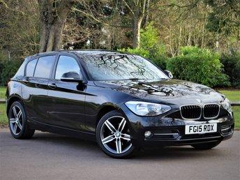 2015 BMW 1 SERIES 1.6 116I SPORT 5d 135 BHP