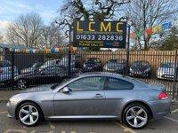 2010 BMW 6 SERIES 3.0 635D SPORT 2d AUTO 282 BHP £9499.00