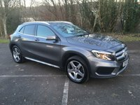 USED 2015 65 MERCEDES-BENZ GLA-CLASS 2.1 GLA 200 D AMG LINE 5d 134 BHP ONLY 23,000 MILES, HALF LEATHER, CRUISE CONTROL,