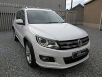 2015 VOLKSWAGEN TIGUAN 2.0 R LINE TDI BLUEMOTION TECHNOLOGY 4MOTION 5d 148 BHP £16995.00