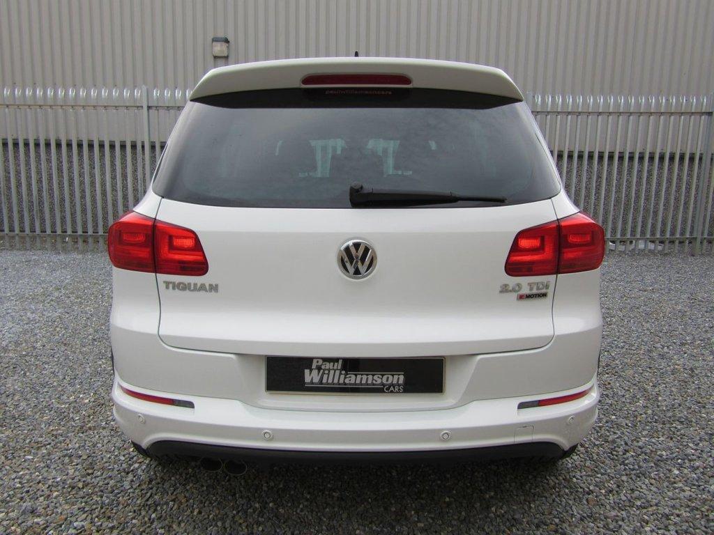 Volkswagen Tiguan R Line TDI Bluemotion Technology 4motion
