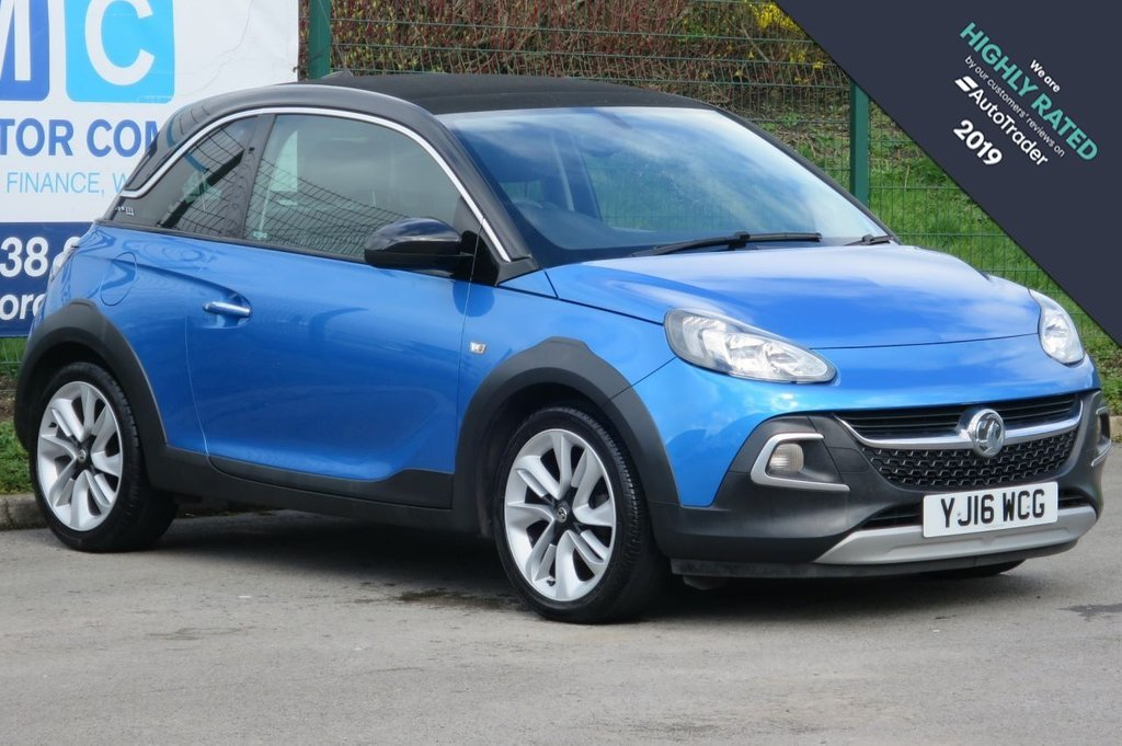 USED 2016 16 VAUXHALL ADAM 1.4 ROCKS AIR 3d 85 BHP