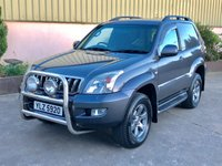 2010 TOYOTA LAND CRUISER Commercial 3.0TD 2 Seater £12950.00