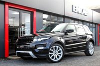USED 2012 12 LAND ROVER RANGE ROVER EVOQUE 2.2 SD4 DYNAMIC 5d 190 BHP REV CAM*DYNAMIC*SKY PAN ROOF*HEATED ELECTRIC LEATHERS*FOLDING MIRRORS*PRIVACY GLASS*20 INCH ALLOYS*MERIDIAN SOUND SYSTEM*