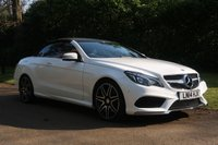 USED 2014 14 MERCEDES-BENZ E-CLASS 3.0 E400 AMG SPORT PLUS 2d AUTO 333 BHP