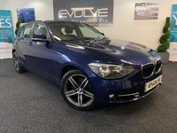 USED 2014 14 BMW 1 SERIES 2.0 118D SPORT 5d 141 BHP IMMACULATE, CHEAP RUNNER!!
