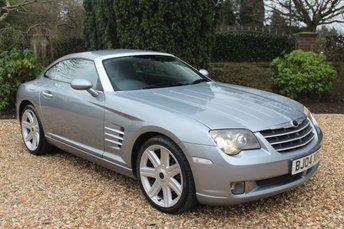 2004 CHRYSLER CROSSFIRE 3.2 V6 2d 215 BHP £2889.00