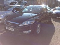USED 2010 60 FORD MONDEO 2.0 ZETEC TDCI 5d 140 BHP TWO OWNERS + FULL SERVICE HISTORY