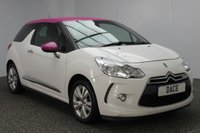 USED 2012 62 CITROEN DS3 1.6 DSTYLE 3DR 120 BHP SERIVE HISTORY + CRUISE CONTROL + AIR CONDITIONING + RADIO/CD/AUX + ELECTRIC WINDOWS + ELECTRIC MIRRORS + 16 INCH ALLOY WHEELS