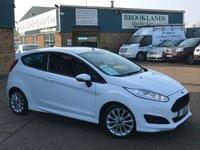 2014 FORD FIESTA 1.0 ZETEC S 3 Door Frozen White £0 RFL 124 BHP £7695.00