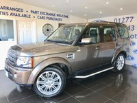 2010 LAND ROVER DISCOVERY 3.0 4 TDV6 XS 5d AUTO 245 BHP £14795.00