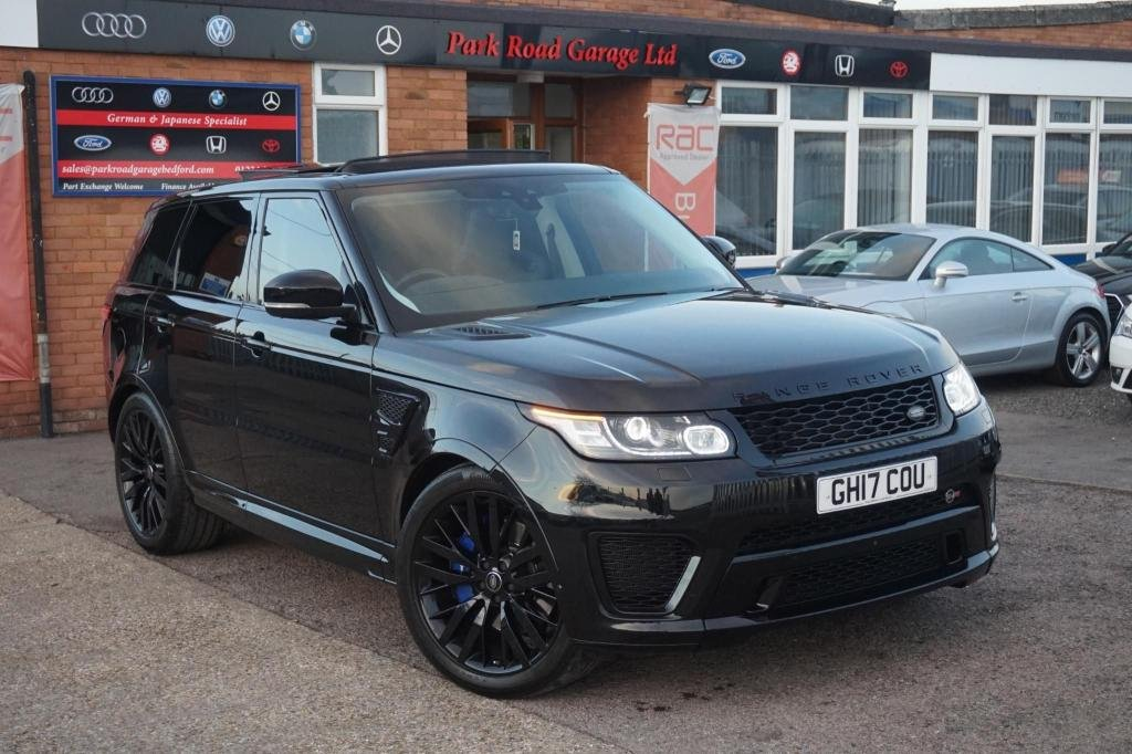 USED 2017 17 LAND ROVER RANGE ROVER SPORT 5.0 V8 Supercharged SVR 4X4 (s/s) 5dr TOP SPEC EVERY OPTIONAL EXTRA