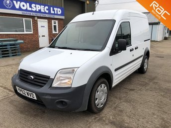 2012 FORD TRANSIT CONNECT 1.8 T230 LWB HIGH ROOF 90 BHP NO VAT £4000.00