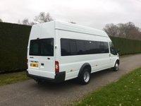USED 2013 63 FORD TRANSIT T430 TDCI 135ps 17 Seat Minibus * 12000 Miles *