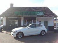 2014 BMW 1 SERIES 1.6 116D EFFICIENTDYNAMICS 5d 114 BHP £8495.00
