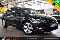 USED 2015 65 SEAT LEON 2.0 TDI FR TECHNOLOGY 5d 150 BHP + 1 OWNER  + SERVICE HISTORY + 15 MONTHS WARRANTY + 12 MONTHS MOT +