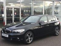 2015 BMW 1 SERIES 2.0 118D SPORT 5 DOOR HATCHBACK 147 BHP £11490.00