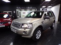 2013 LAND ROVER FREELANDER 2.2 TD4 GS 5d 150 BHP £12999.00