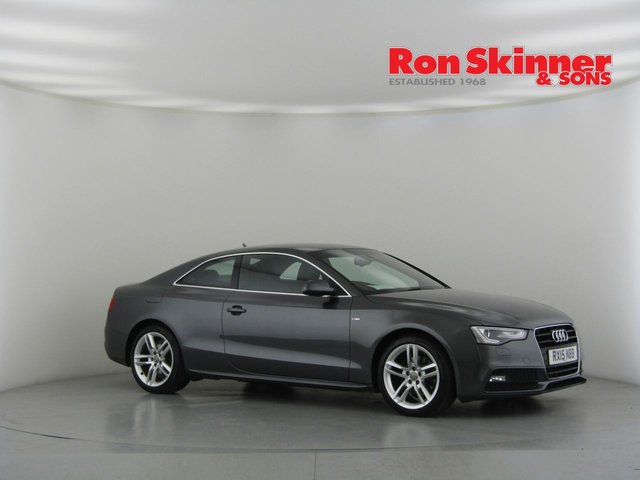 View our 2015 15 AUDI A5 2.0 TDI S LINE S/S 2d 177 BHP