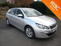 USED 2016 16 PEUGEOT 308 1.6 BLUE HDI S/S SW ACTIVE 5d 100 BHP Free To Tax! Touch Screen Display, Bluetooth, DAB, Alloy Wheels
