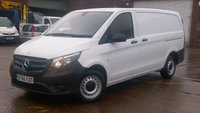 2016 MERCEDES-BENZ VITO 1.6 111 CDI 1d 114 BHP 1 OWNER F/S/H 2 KEYS VERY LOW MILES 30000 MILES FREE 12 MONTHS WARRANTY COVER  £11870.00