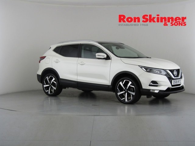 View our 2018 18 NISSAN QASHQAI 1.5 DCI TEKNA 5d 108 BHP with Glass Roof
