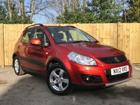 USED 2012 12 SUZUKI SX4 1.6 SZ4 5d 118 BHP Sunlight Copper Pearl Metallic Paint Cost £430 Extra From New