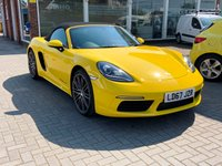 USED 2017 67 PORSCHE 718 BOXSTER 2.0 BOXSTER PDK 2d AUTO 295 BHP Low Mileage VAT QUALIFYING Media Connectivity   PORSCHE 718 2.0 BOXSTER PDK 2d AUTO 295 BHP Low Mileage VAT QUALIFYING