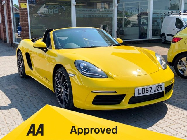 View our PORSCHE 718 BOXSTER