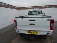 USED 2014 14 FORD RANGER 2.2 XL 4X2 DCB TDCI 1d 123 BHP FORD RANGER 2.2 XL NO VAT NO VAT NO VAT