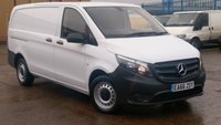 2016 MERCEDES-BENZ VITO 1.6 111 CDI 1d 114 BHP 1 OWNER F/S/H 2 KEYS VERY LOW MILES 25000 MILES FREE 12 MONTHS WARRANTY COVER  £11990.00