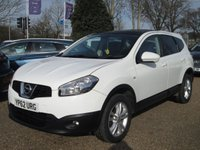 USED 2012 62 NISSAN QASHQAI+2 1.6 ACENTA PLUS 2 5d 117 BHP SEVEN SEATER ( 3RD ROW ARE FOLD AWAY )