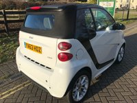 USED 2014 63 SMART FORTWO CABRIO 1.0 PASSION MHD 2d AUTO 71 BHP