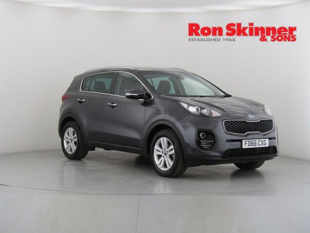 View our 2017 66 KIA SPORTAGE 1.7 CRDI 2 ISG 5d 114 BHP