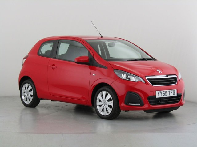 View our 2015 65 PEUGEOT 108 1.0 ACTIVE 3d 68 BHP