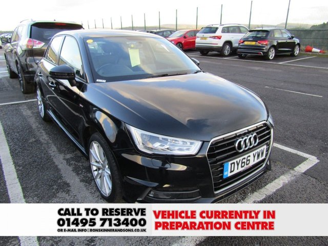 View our 2016 66 AUDI A1 1.6 SPORTBACK TDI S LINE 5d 114 BHP