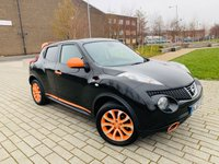 USED 2013 63 NISSAN JUKE 1.6 MINISTRY OF SOUND 5d 117 BHP