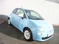 2013 FIAT 500 1.2 COLOUR THERAPY  £4495.00