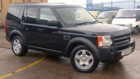2005 LAND ROVER DISCOVERY 2.7 3 TDV6 S 5d 188 BHP NO VAT TO ADD  2 KEYS PART/S/H FREE 12 MONTHS WARRANTY COVER  £5990.00