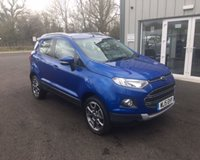USED 2015 15 FORD ECOSPORT 1.5 TDCI TITANIUM 90 BHP THIS VEHICLE IS AT SITE 1 - TO VIEW CALL US ON 01903 892224