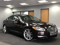 USED 2010 10 JAGUAR XF 3.0 V6 PORTFOLIO 4d AUTO 240 BHP++SAT NAV++FULL LEATHER++