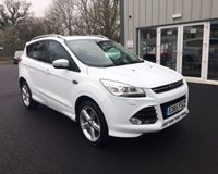 USED 2015 65 FORD KUGA 2.0 TDCI TITANIUM X SPORT AWD 180 BHP THIS VEHICLE IS AT SITE 1 - TO VIEW CALL US ON 01903 892224