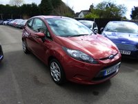 USED 2009 59 FORD FIESTA 1.25 STYLE 3dr THIS VEHICLE IS AT SITE 1 - TO VIEW CALL US ON 01903 892224
