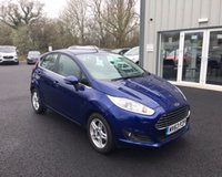 USED 2014 63 FORD FIESTA 1.25 ZETEC THIS VEHICLE IS AT SITE 1 - TO VIEW CALL US ON 01903 892224