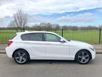 2014 BMW 1 SERIES 2.0 116D SPORT 5d 114 BHP £9995.00